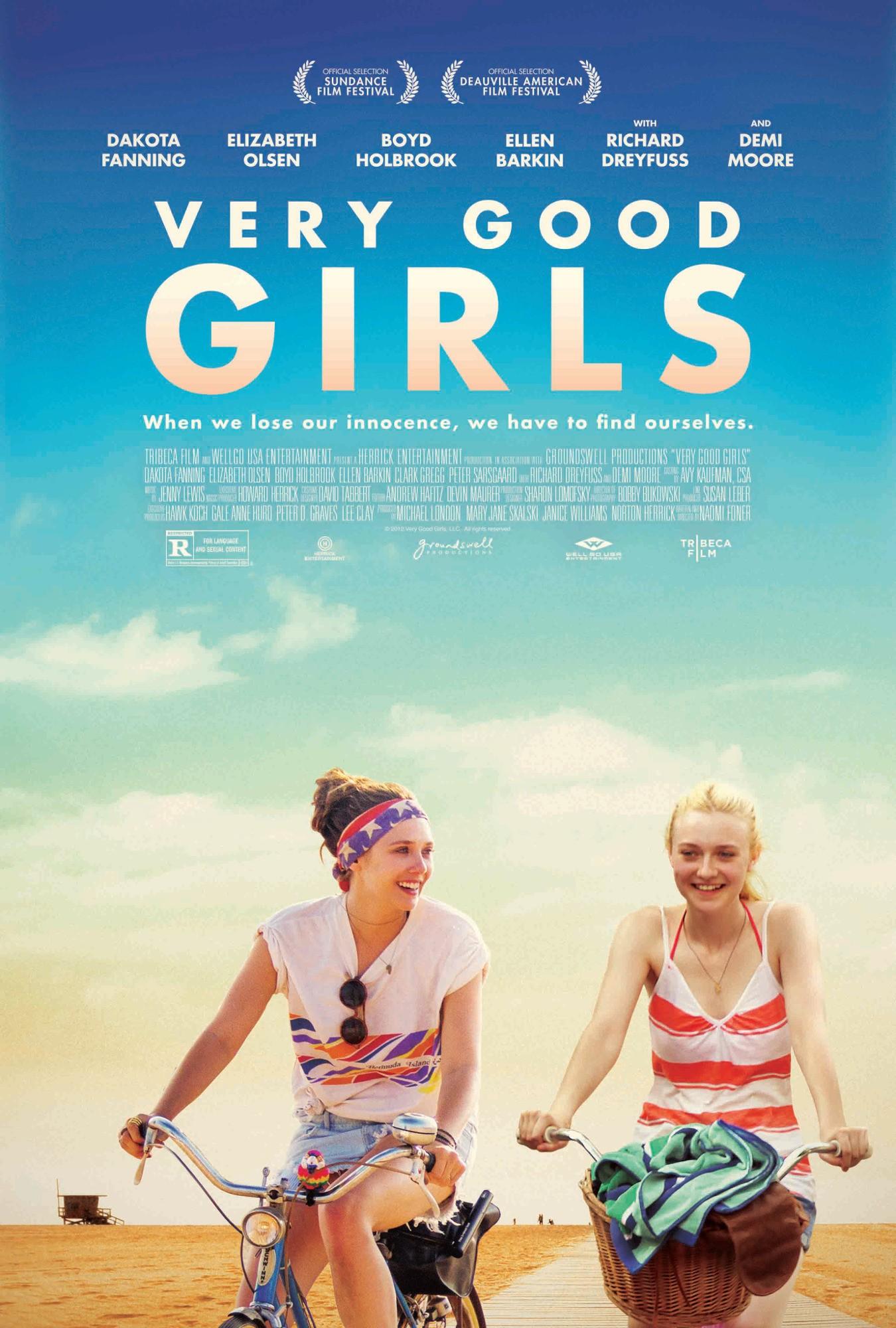 Labai geros mergaitės / Very Good Girls (2014)