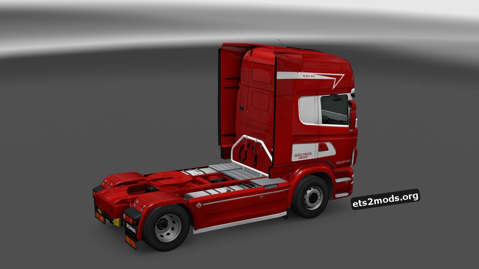 Yagiz Truck Group Skin for Scania RJL