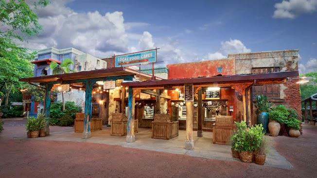 Fachada do Restaurante Yak & Yeti no Disney Animal Kingdom Orlando