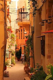 Stare miasto Chania, uliczki