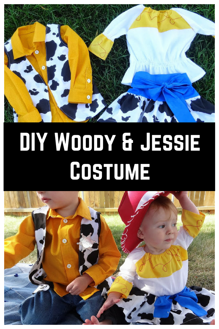 Diy Woody Jessie Costumes 31 Day Of Halloween Sew Simple Home