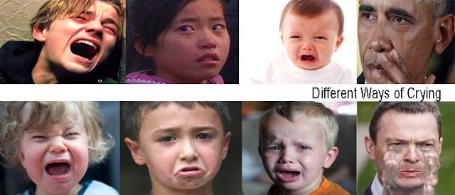 different ways of crying name, crying, cry