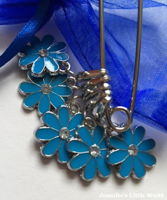 Stitch markers from Charmed Knitting