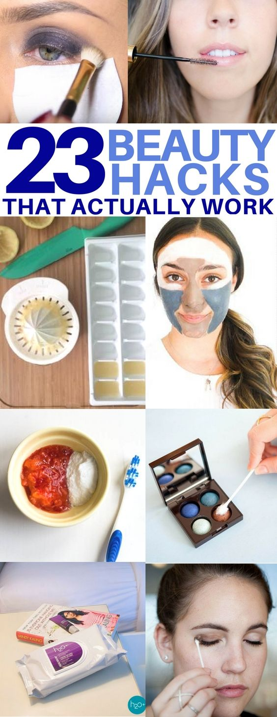 23 Brilliant Beauty Hacks You'll Actually Use