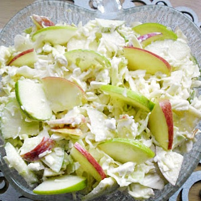 This is my favorite skinny salad  and kids love it too