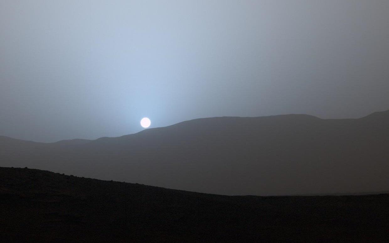 sunset on mars nasa - photo #23