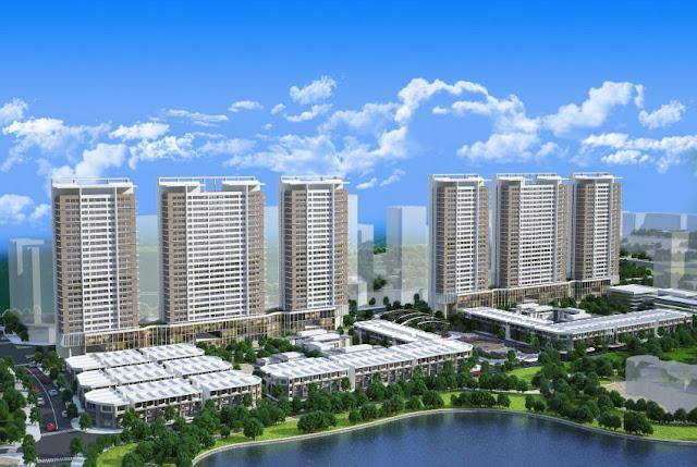 Phối cảnh dự án Khai Sơn City