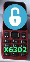 unlock máy 6302