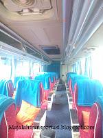 interior bus gajah mungkur kelas big top