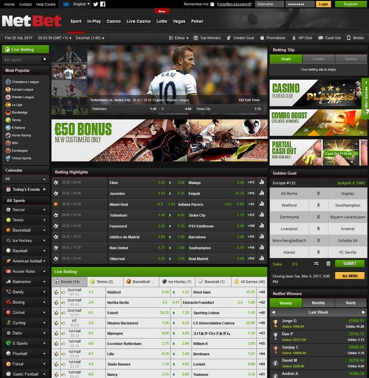 NetBet Offers