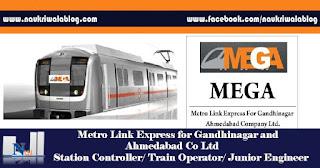 Station Controller/ Train Operator/ Junior Engineer Job 2017