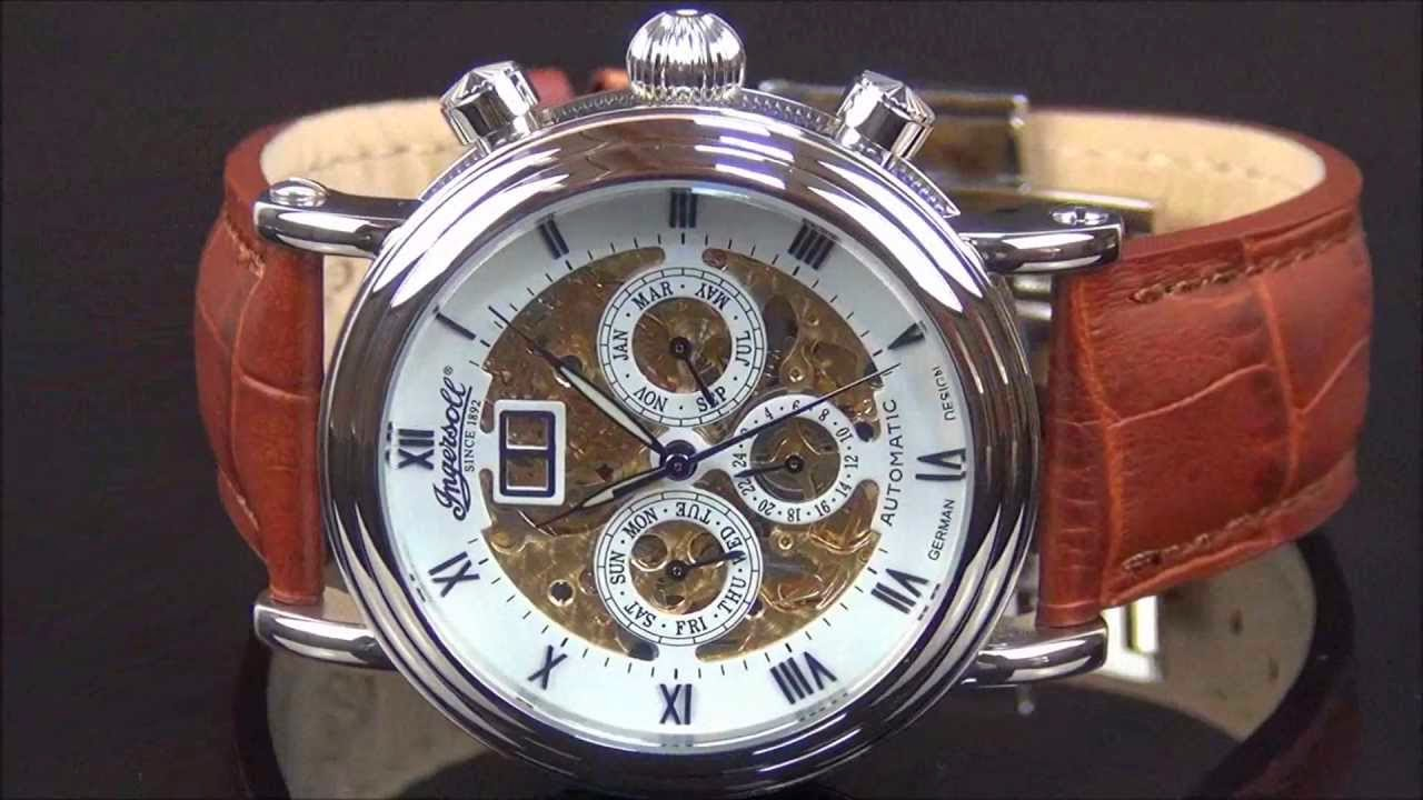 INGERSOLL IN2700WH GHANDI AUTOMATIC
