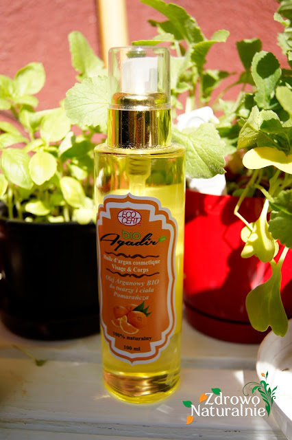 Bio Agadir - Olej arganowy owoc pomarańczy