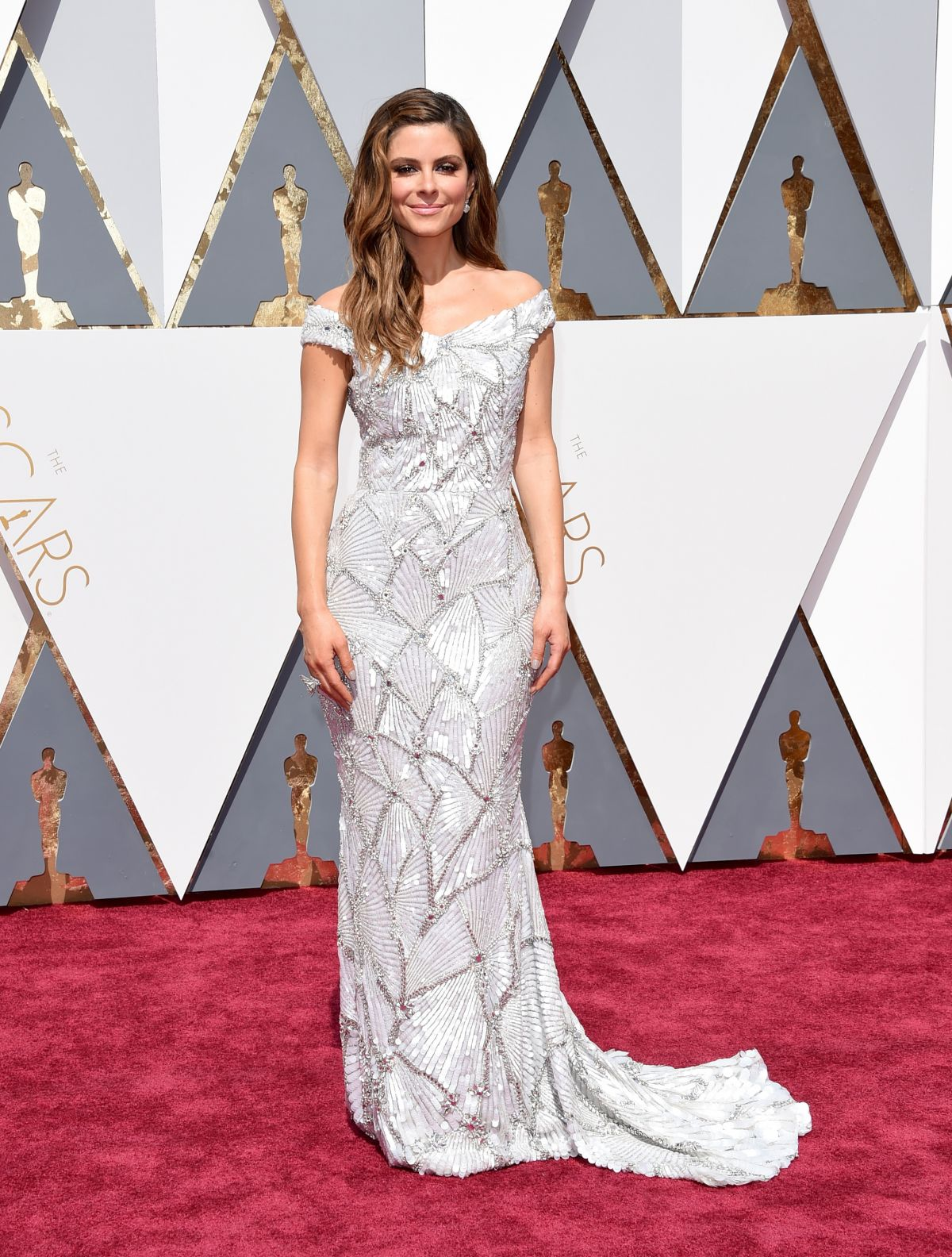 Entourage actress Maria Menounos at 88th Annual Academy Awards 2016