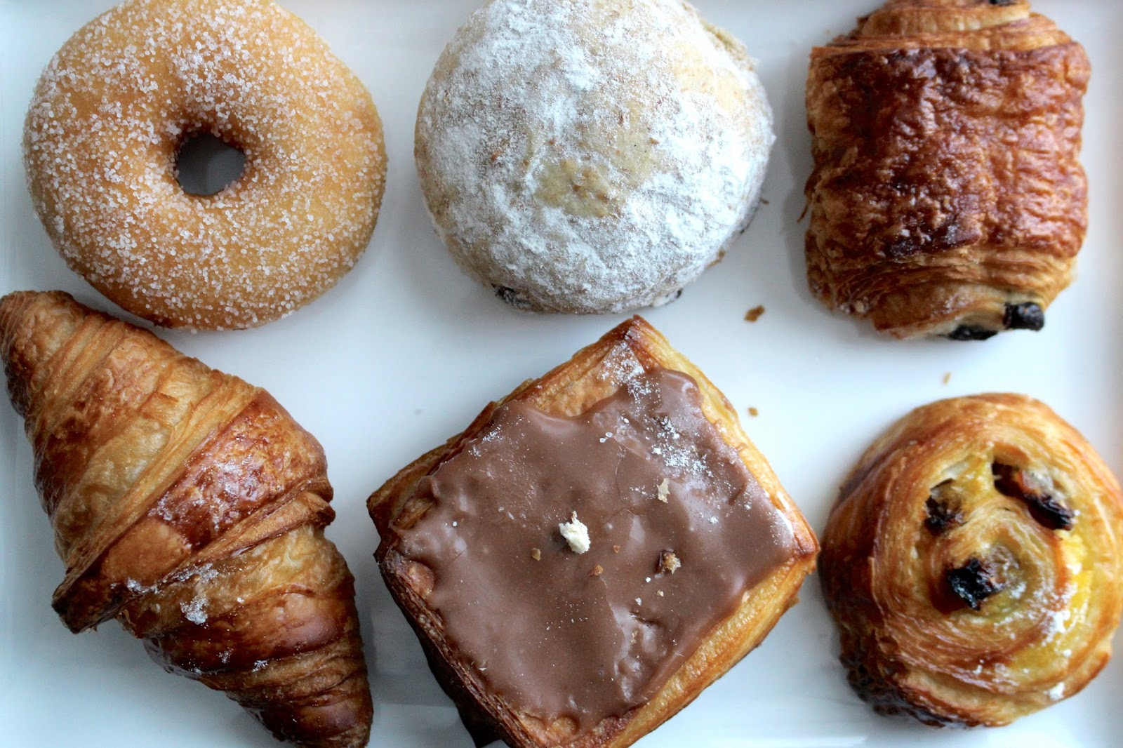 Selection of sweet pastries at Hotel Dukes' Palace