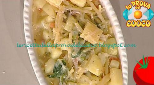 Pasta patate e provola ricetta Improta da Prova del Cuoco