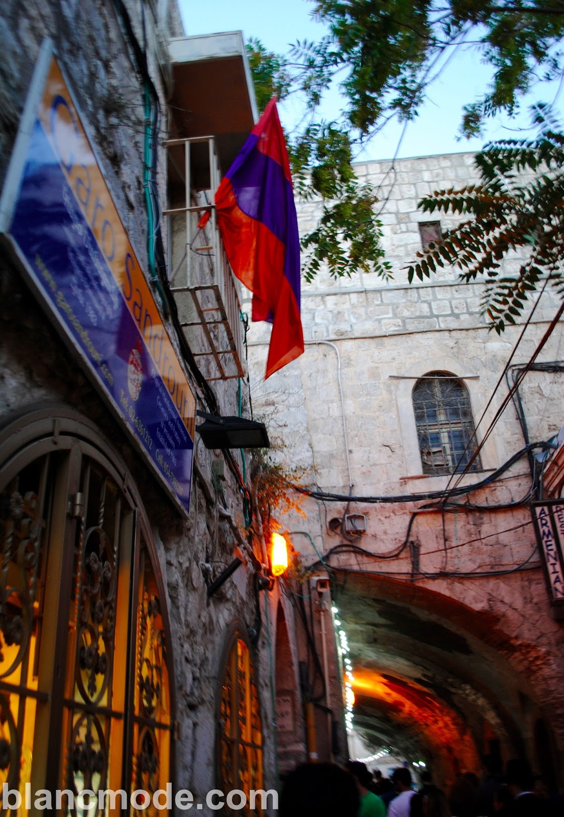 armenian quarter in jerusalem