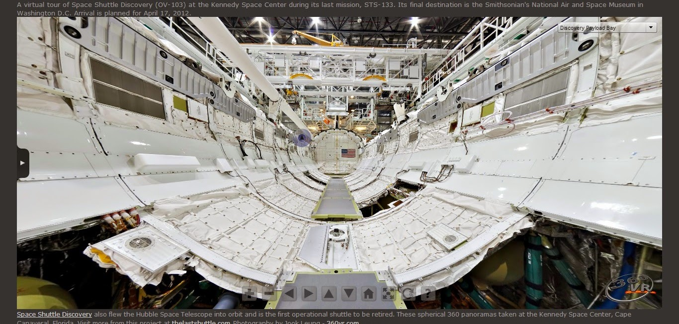 5-Star Links: Space Shuttle Discovery