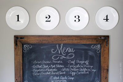 Numbered Plate Display
