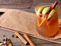 Fall Harvest Hot Apple Cider