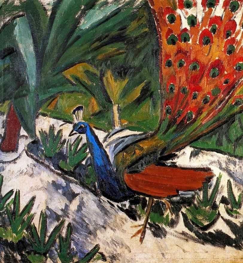 Картинки по запросу ларионов михаил фёдорович павлины
