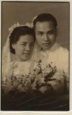 1960s wedding portrait in Malayisa