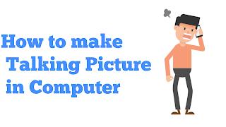 Talking picture, talking photo, talking picture making app