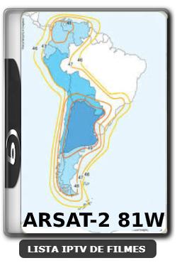 ARSAT-2 81W ON na linha GSHARE ACM via IKS