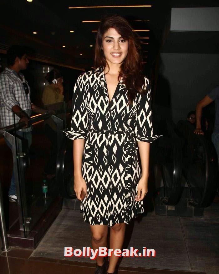 Rhea Chakraborty, Sasha Agha, Shibani Kashyap new pics from 'Desi Kattey' Special Screening