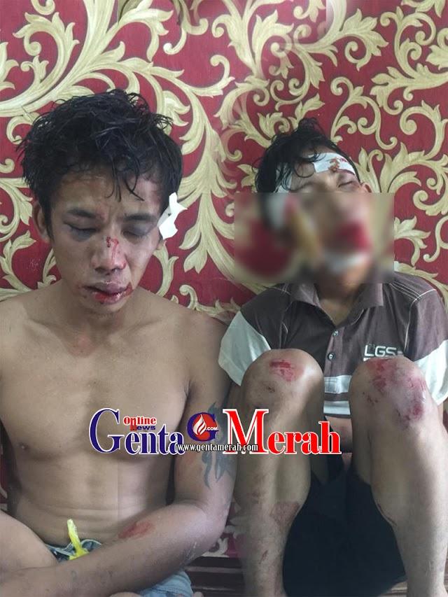 Kepergok  Nyolong Kotak Amal Dua Pemuda di Lamtenag Nyaris Dibakar Massa
