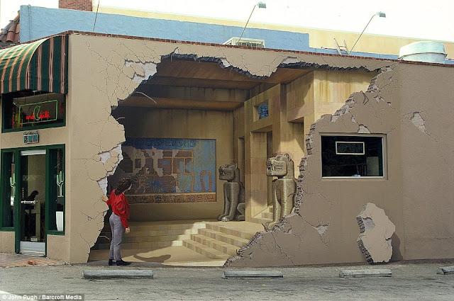 jasa lukis dinding mural 3D