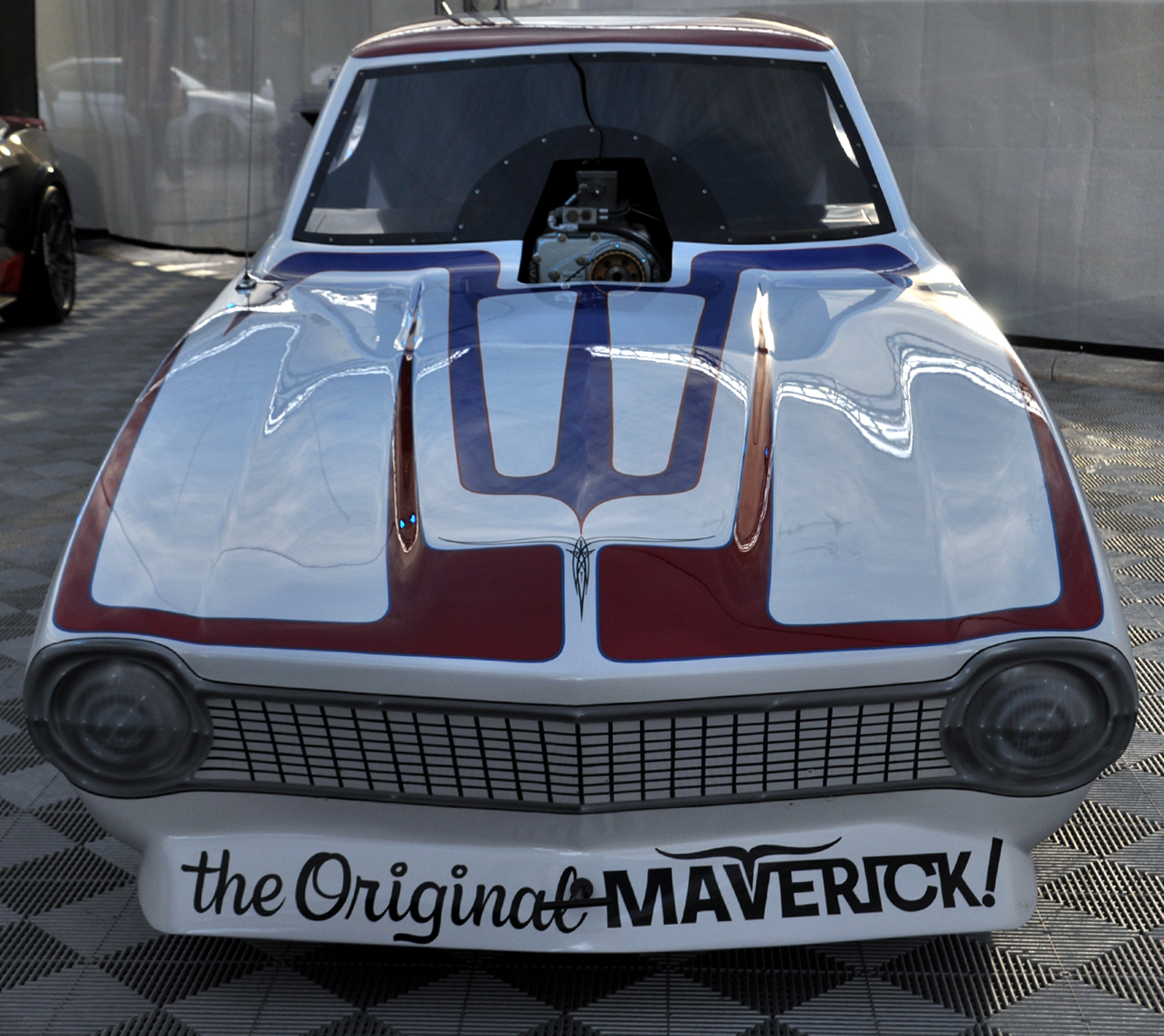 Just A Car Guy: Galpin Auto Sports Brought A Funny Car