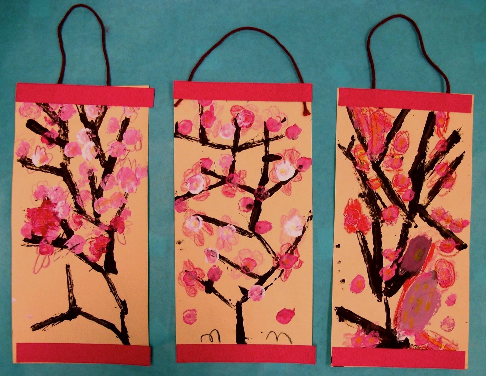 96 Spring Art Ideas For Grade 1
