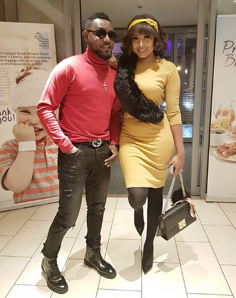 AY and wife Mabel step out in style