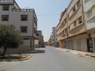 Sidi Slimane 56e ville sans bidonvilles au Maroc.