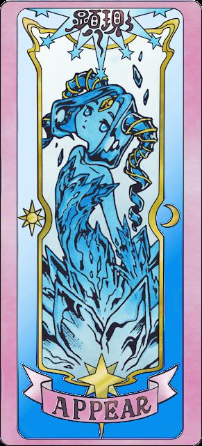Appear clear card