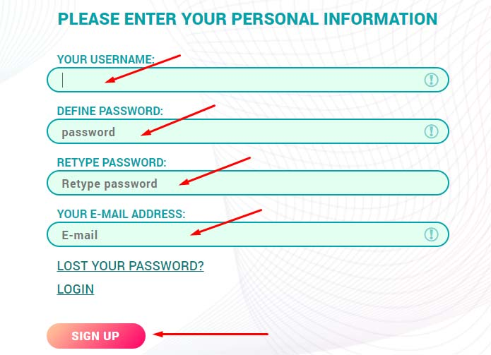 Регистрация в EthereumPro 2