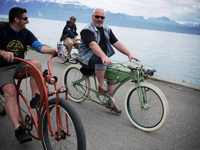 KBK Lausanne KustomBeachKruise Hickone Chopaderos Beachbike Cruiser Cruising Kustom Custombrigade Beachcruiser