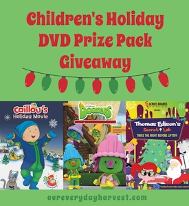 Children's Holiday DVD Prize Pack Giveaway