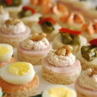 Idea canapes o tapas facilisimos receta express for Tapas sencillas y rapidas