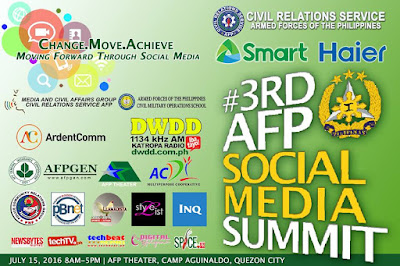 Join The 3rd AFP Social Media Summit Happening On July 15