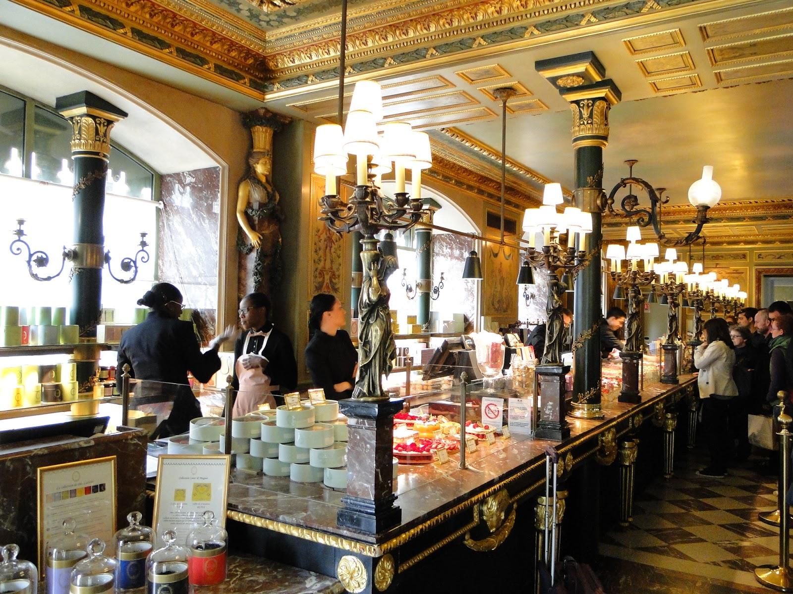Laduree Restaurant Menu Paris