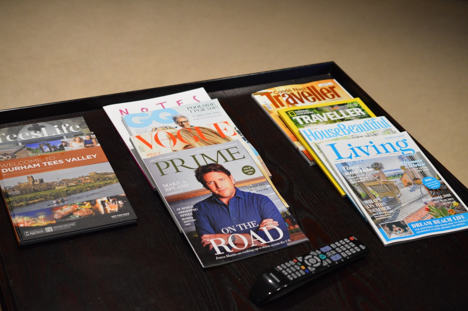 A Luxury Family Staycation at Rockliffe Hall Hotel  - complimentary magazines