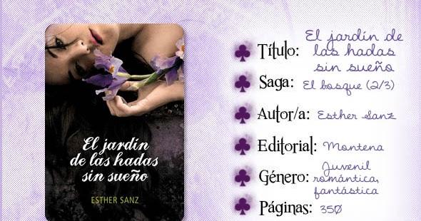 Entre Líneas: El jardín de las hadas sin sueño, Esther Sanz