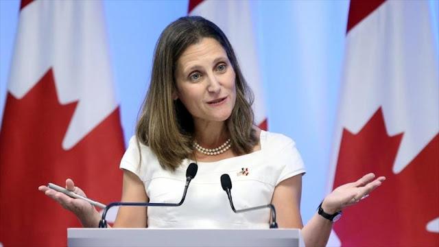 Canadá impone más sanciones a Venezuela por sus elecciones