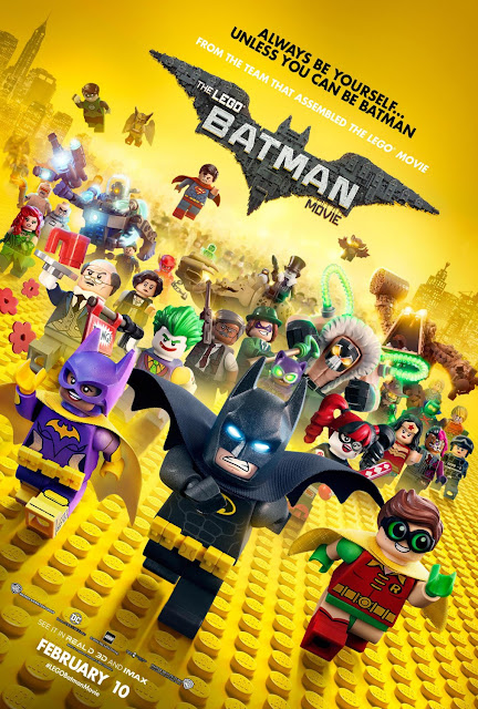 The LEGO Batman Movie Theatrical One Sheet Poster