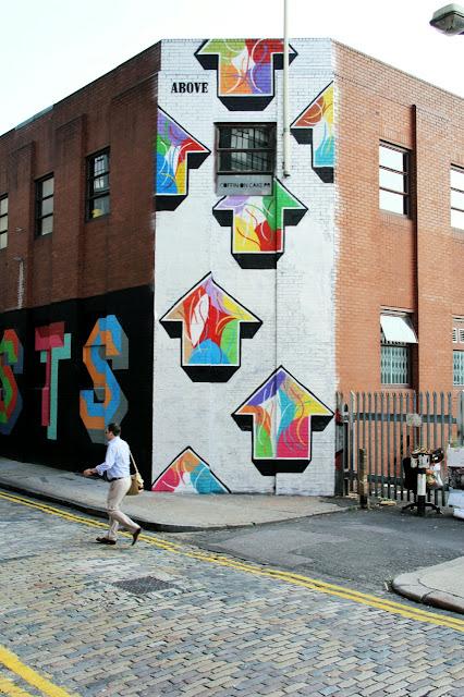 Street Art By Above in London, UK 3