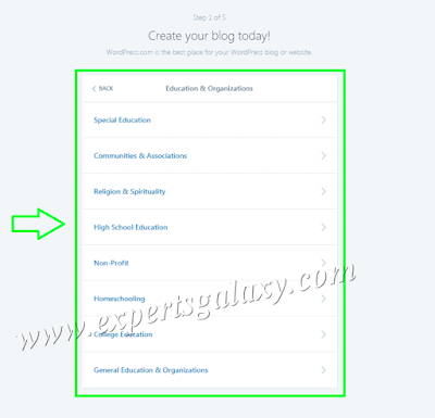Select Your Blogging Subtopic