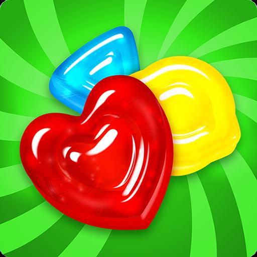 تحميل لعبة Gummy Drop! مهكرة نقود لا نهاية
