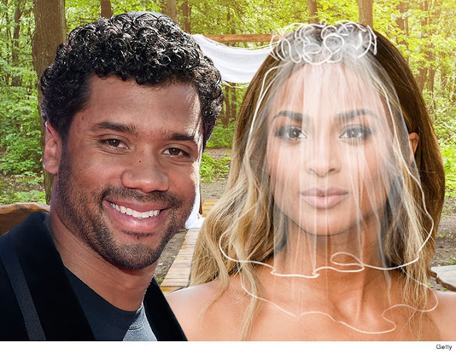 It's Official Ciara and Russel Wilson are Married. See the First Picture